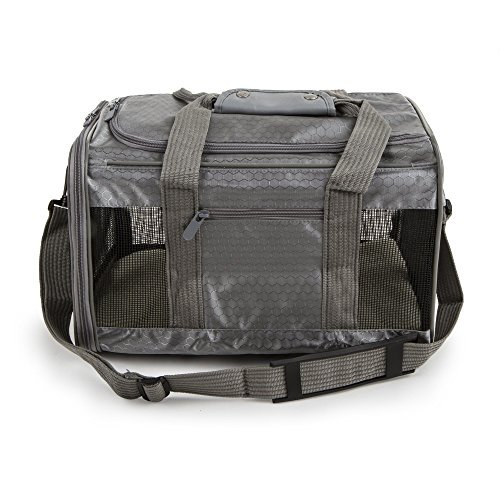 (Sherpa to Go Pet Carrier Gray, Medium)