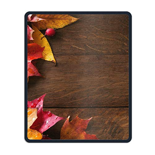 Autumn Wallpapers Eco Friendly Cloth with Neoprene Rubber Liil Mouse Pad Desktop Mousepad Laptop