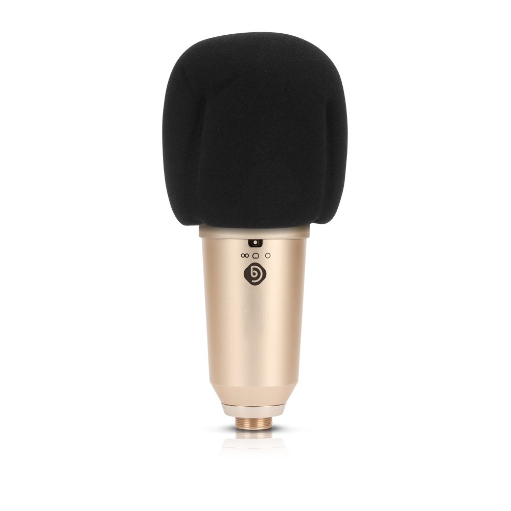 Debra Audio U87 Three Polar Patterns 32mm Large Details About New Type Circuit Condenser Microphone Case Shock Diaphragm Professional Vocal For Recording Studio Musical Instruments