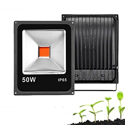 JINHUGU 20W 30W 50W volle Spektrum COB LED wachsen Pflanzenwasser Flutlicht wasserdicht für gemäße Blaume AC85-265V 50w