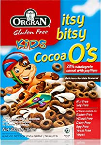Orgran Itsy Bitsy Cocoa O's Cereals - 300 gm