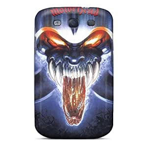 Protector Hard Cell-phone Cases For Samsung Galaxy S3 With Allow Personal Design Nice Motorhead Band Skin SherriFakhry