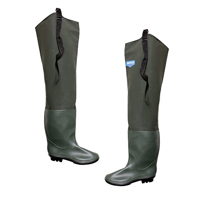 D DOLITY 1 Paio Pantaloni Con Calze Tampolieri In PVC Cinturino Regolabile Fibbie Autobloccanti