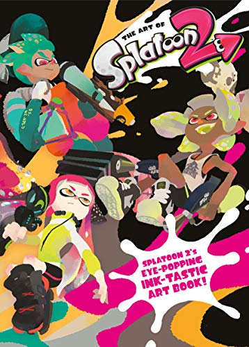 Book cover from The Art of Splatoon 2 by Nintendo