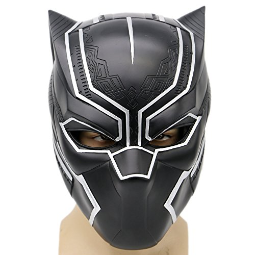 XCOSER Men's Panther Mask V3 Resin Helmet For Hot Movie Cosplay 2016 Classic (Black Panther Mask Marvel compare prices)