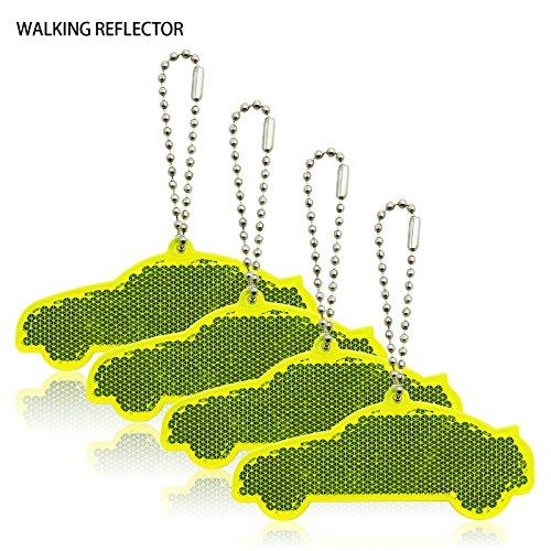 Reflector Hanger (4Pcs Super Bright Reflective Hangers, Reflector Bag Tags)