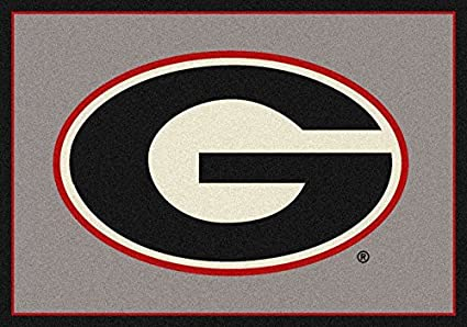 Milliken Georgia College Team Spirit Area Rug 28 x 310