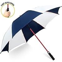 ZOMAKE Paraguas Grande Antiviento, Automático Paraguas de Golf