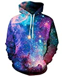 YOUR LOVE Hipster SPACE GALAXY 3d printed HOODIE Men Women Sweatshirt (M)