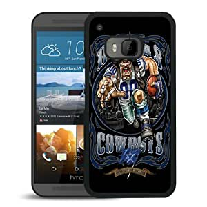 Popular Custom Designed Cover Case With Dallas Cowboys 01 Black For HTC ONE M9 Phone Case