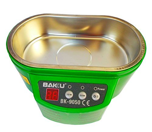 BAKU Professional 304 Stainless Steel 560ML Sanitizer And Ultrasonic Cleaner For Phones,Jewelry, Watches, Denture, Toothbrush And More Precision Instrument (BK-9050) by Baku (Image #2)