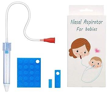 Amazon.com: Aspirador nasal para bebés recién nacidos a ...