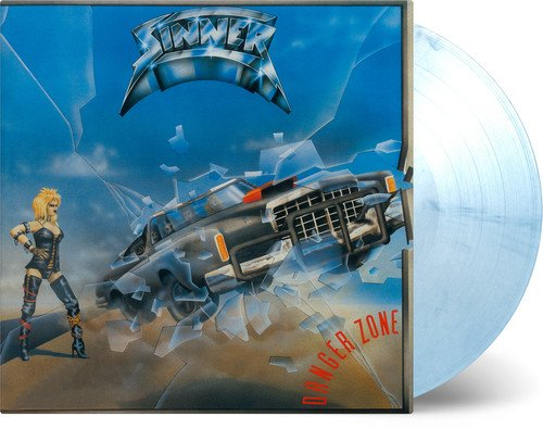 Vinilo : Sinner - Danger Zone (White, Blue, 180 Gram Vinyl, Limited Edition)
