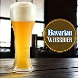 Mr. Beer Bavarian Wheat 2 Gallon Homebrewing Craft Beer Making Refill Kit with Sanitizer, Yeast and All Grain Brewing Extract Comprised of the Highest Quality Barley and Hops