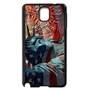 -ChenDong PHONE CASE- For Samsung Galaxy NOTE4 Case Cover -Statue of Liberty-UNIQUE-DESIGH 13