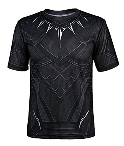 Seven Plus Superhero Halloween Sports T-Shirt Short Sleeve Cosplay T-Shirt
