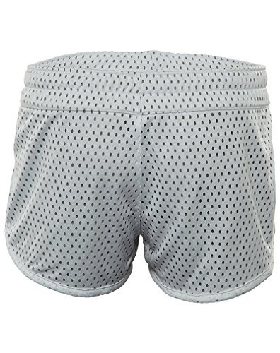 Nike Gym Short Reverse - Pantalón corto para mujer White/Dark Grey