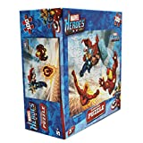 Marvel Heroes Thor Iron Man and the Human Torch 100 Piece Lenticular Puzzle