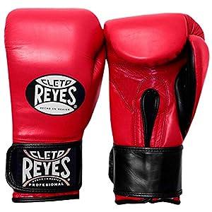 Cleto Reyes Extra Padding Leather Training Gloves - Black