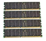 4GB (4x1GB) Dell PowerEdge 600SC 6600 6650 Server Memory RAM (ALL MAJOR BRANDS)