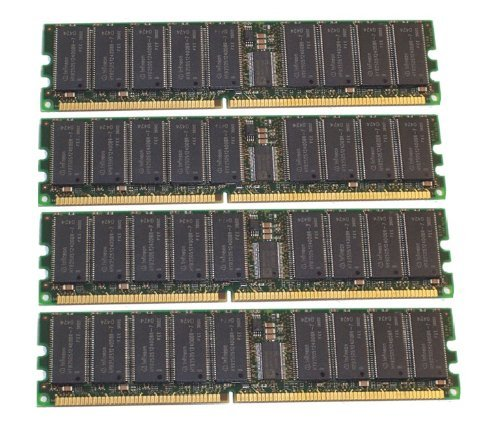 (NOT FOR PC/MAC!!) 4GB 4x1GB memory Intel SE7501WV2 Mainboard DDR-266 PC-2100 ECC REG Not for PC ()