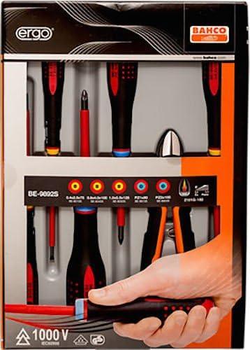 Bahco BE-9892S - Juego 6 Destor Ergo Aislo Pl/Pz/Alicate: Amazon.es: Bricolaje y herramientas