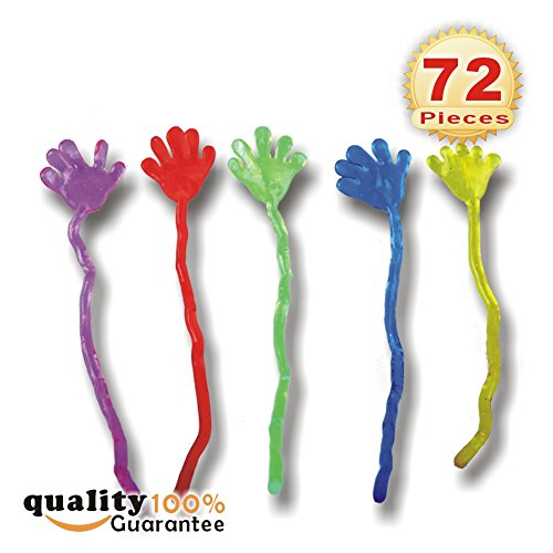 72 pcs Mini Sticky Hands Toys (1 1/4