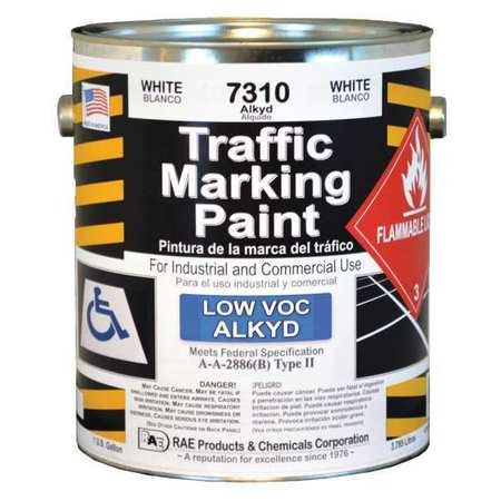RAE Traffic Marking Paint White 1 Gal by RAE (Image #1)