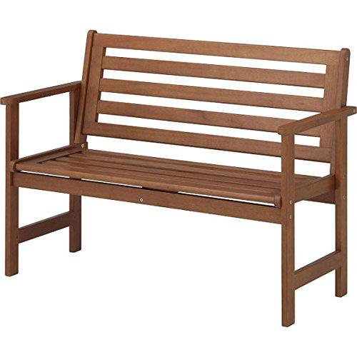 オックスフォードベンチ[2人がけ木製ガーデンベンチ 幅112.8cm] B013ONR31S