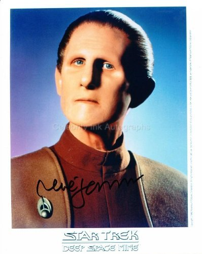 RENE AUBERJONOIS as Constable Odo - Star Trek: Deep Space Nine Genuine Autograph from Celebrity Ink