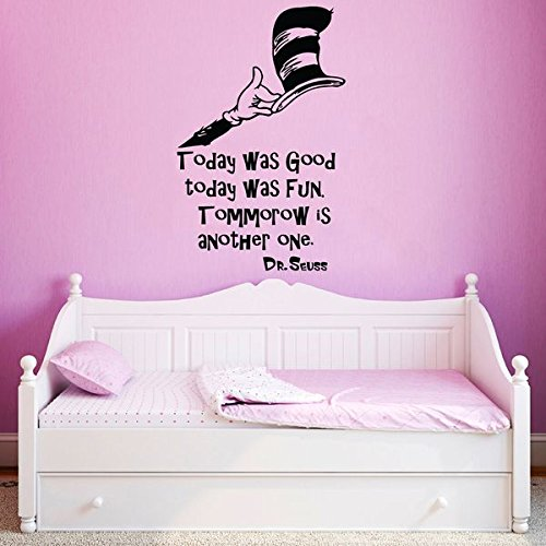 dr seuss wall decal quote