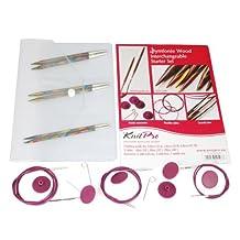 KnitPro KP20604 | Symfonie Starter Interchangeable Circular Knitting Needle Set
