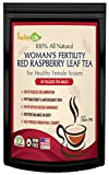 Red Raspberry Leaf Tea, Fertility tea with Rasberry leaf for women to get pregnant fast, induce labor and aid uterus health - Caffeine Free - 30 Tea Bags | Made in USA