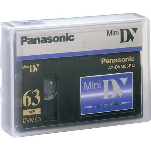 Panasonic Aydvm63pq Video Dv Mini Digital Professional 63 Minute Cassette