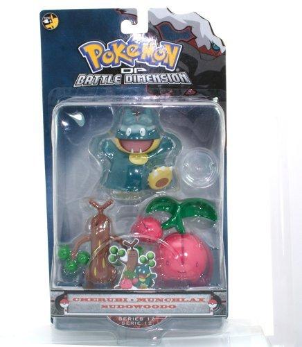Pokemon Diamond & Pearl Battle Dimension Multipack - Cherubi, Munchlax, and Sudowoodo - Munchlax Pokemon Diamond