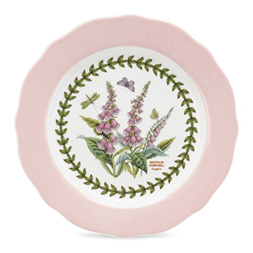 Portmeirion botanic garden terrace scalloped edge dessert for Portmeirion dinnerware set of 4 botanic garden canape plates
