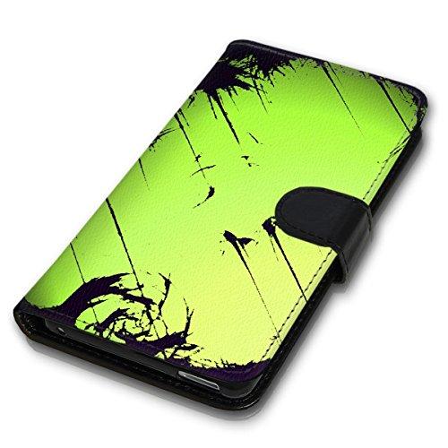 Wallet Book Style Flip Handy Tasche Case Schutz Hülle Schale Motiv Etui für Apple iPhone 6 / 6S - Design Flip MV138