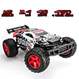 KOOWHEEL RC Car, 2.4GHz 30MPH High Speed Remote Control Cars 1:12 Scale 4WD Off Road Racing Car RC Trucks Racing Monster Toy Gifts for Kids and Adults (Red)
