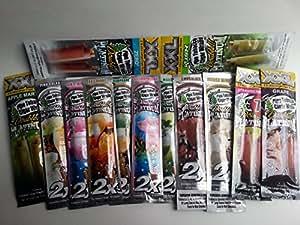 Double Platinum Tobacco Cigar Wraps-13 Flavors=26 Wraps-Lot B