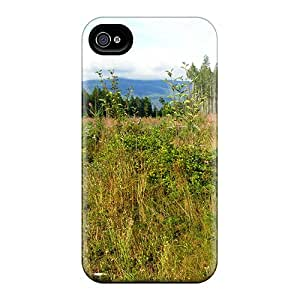 Durable Protector Cases Covers With Grassy Plateau Hot Design For Iphone 6