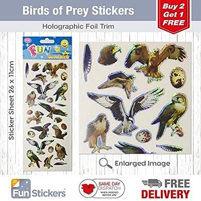 Fun Stickers Birds of Prey 837: Kitchen & Dining