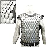 Medieval Bridgand's Steel Scale Mail Body Armor
