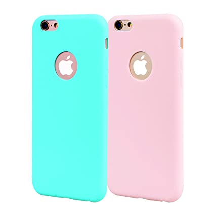 Funda iPhone 6, Carcasa iPhone 6S Silicona Gel, OUJD Mate ...