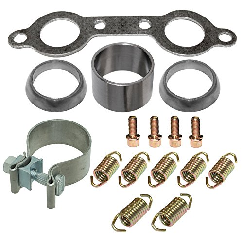 CALTRIC EXHAUST MUFFLER KIT Fits POLARIS RZR 800 4X4 EFI 2008 2009 2010 2011 by Caltric (Image #1)