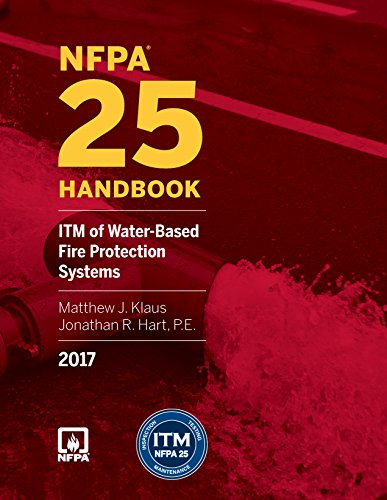 NFPA 25: ITM of Water-Based Fire Protection Systems Handbook, 2017 Edition