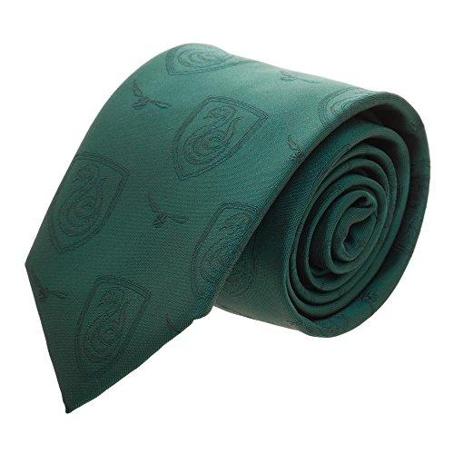 Harry Potter Monochomatic Neck Tie (Slytherin)