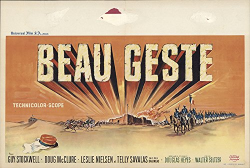 Beau Geste Poster - Beau Geste 1966 Authentic 14.25
