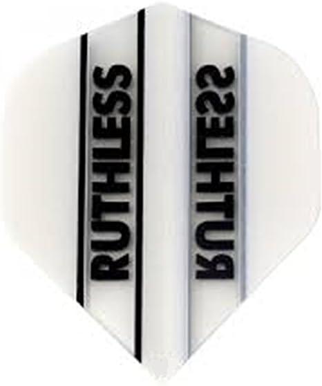 100 Micron 5 New Sets of Ruthless Archer X Standard  Dart Flights Smoke