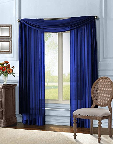 empire-home-solid-sheer-voile-scarf-valance-216-long-window-scarves-37-x-216-color-navy-blue