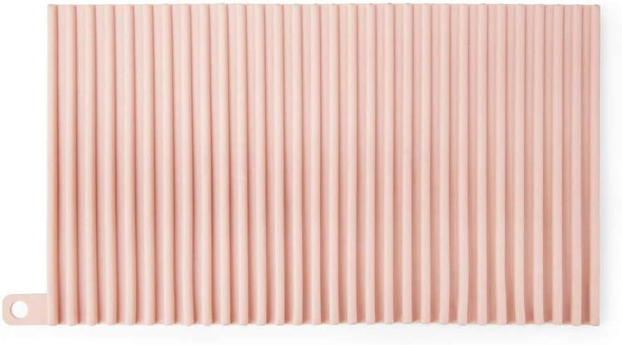 Multifunzione Mekta Bianco Utilizzabile Come lavabo Resistente al Calore in Silicone Silicone 30 * 18cm // 11.81 * 7.08 in Tappetino per Scarico Cucina Non Aderente